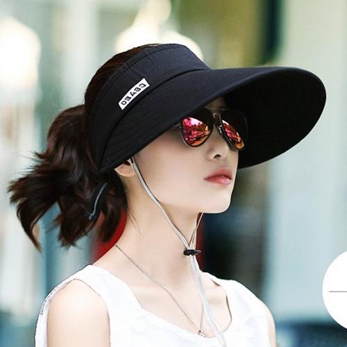 KINCIN 여자 여성 여름 챙넓은 햇빛차단모자 자외선차단모자 썬캡