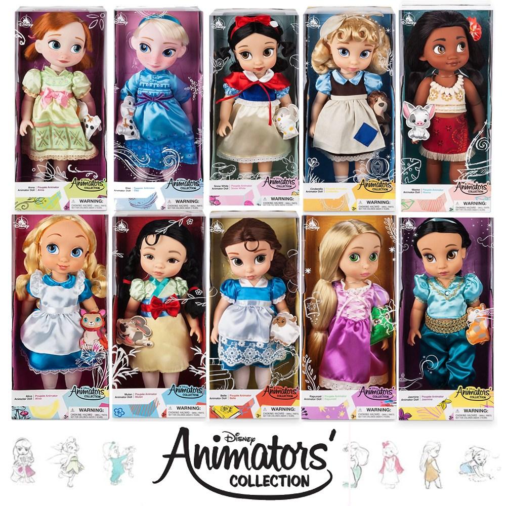 디즈니 베이비돌 Disney Animator's Collection Dolls 봉제인형 | 디즈니스토어 겨울왕국 엘사 백설공주 라푼젤 신데렐라, 13_겨울왕국2 안나 봉제인형 18인치