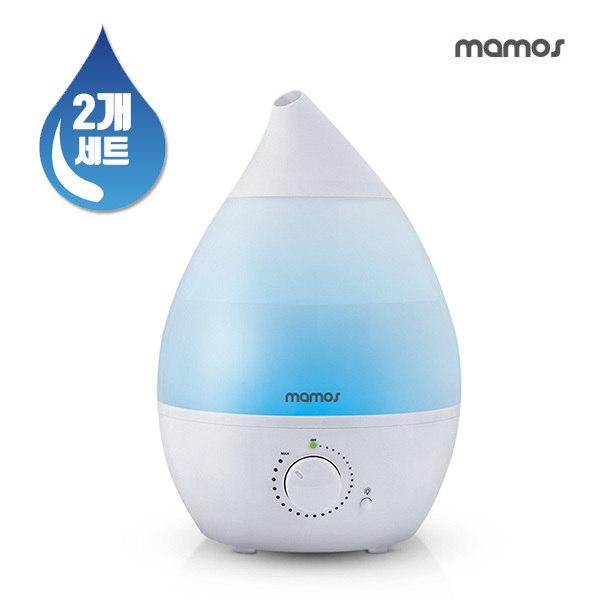 [마모스] [2개세트] 물방울 초음파 대용량 가습기, 종류:1+1마모스물방울가습기