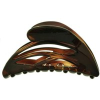 카밀라 파리 CP2296 거북딱지 여성식 프렌치 헤어핀 발톱