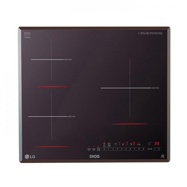 [하이마트] LG전자 (85mm스탠딩) 3구 인덕션 전기레인지 BEI3MT, 단일상품