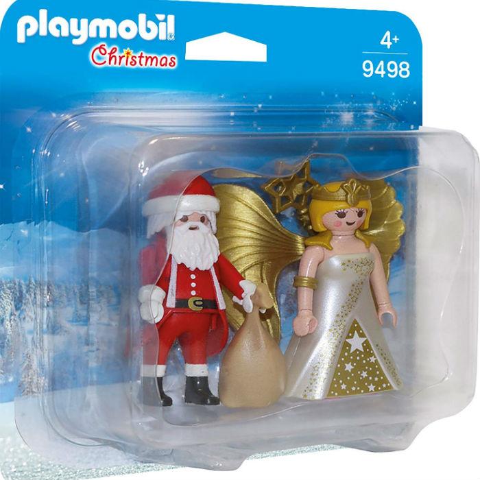 플레이모빌 듀오팩 9498 크리스마스 산타와 천사