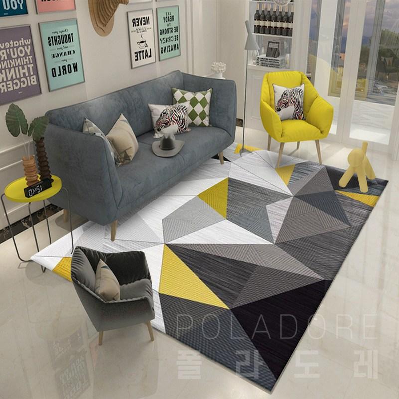거실 카페트 대형 바닥 매트 특대형 거실 러그 카펫, 02-A타입(160cmX230cm)