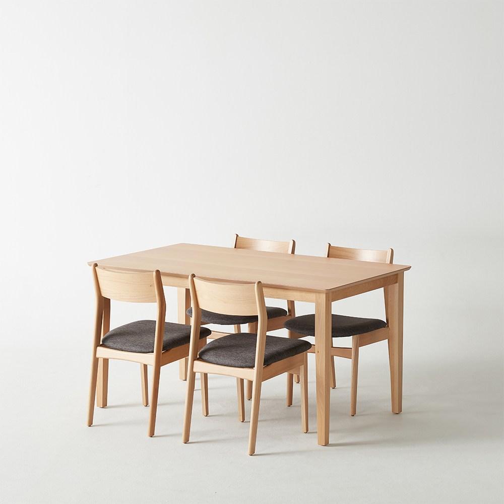 [까사미아] E미아)테이블 세트(체어GY 4EA)