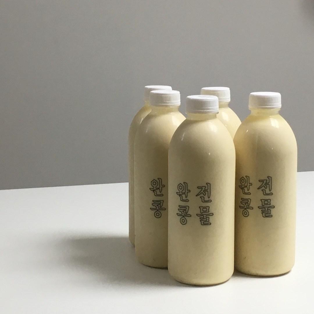 완전콩물 1000ml 큰병 300ml 작은병 국산콩100% 맛있는 콩물 콩국수 수제두유 간편식 건강음료, 1병