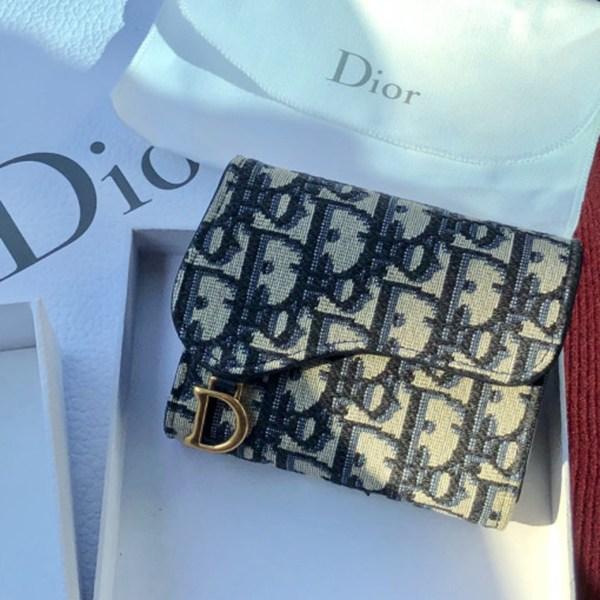 [디올] 오블리크 반지갑 Dior Oblique Wallet S5621CTZQ_M928