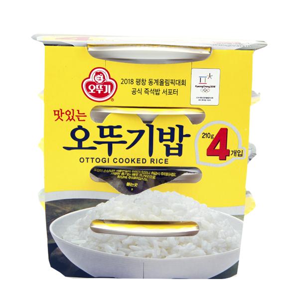 맛있는 오뚜기밥 210g 4입 X 3 즉석밥, 단일상품