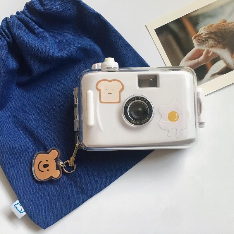 레트로 필름 카메라 스티커 포함 빈티지 감성 롤필름 코닥 일본 토이카메라 로모 옛날카메라, 단일상품