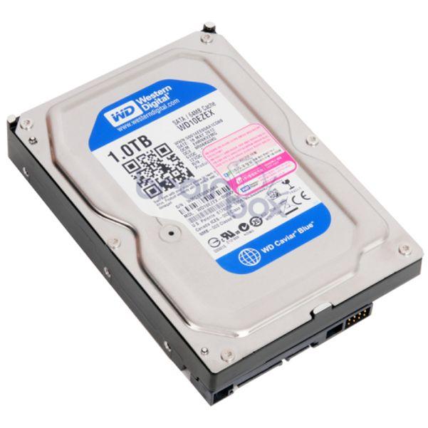 웨스턴 하드 디스크 3.5 1TB SATA3 HDD 저장 메모리 (POP 5431957315)