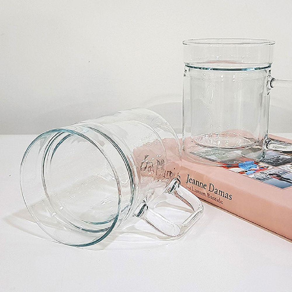 시맥스 내열 유리 이중 머그잔 주스 컵 AA0 200ml 2P, 2피스, 본상품선택