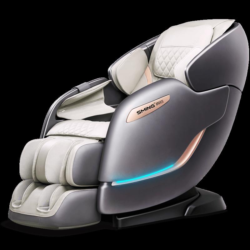 안마 의자 가정용 전신다기능 마사지 전자동 안마기 Shangming 홈 4D 운동 전기, 스페이스 그레이 (POP 5738484109)