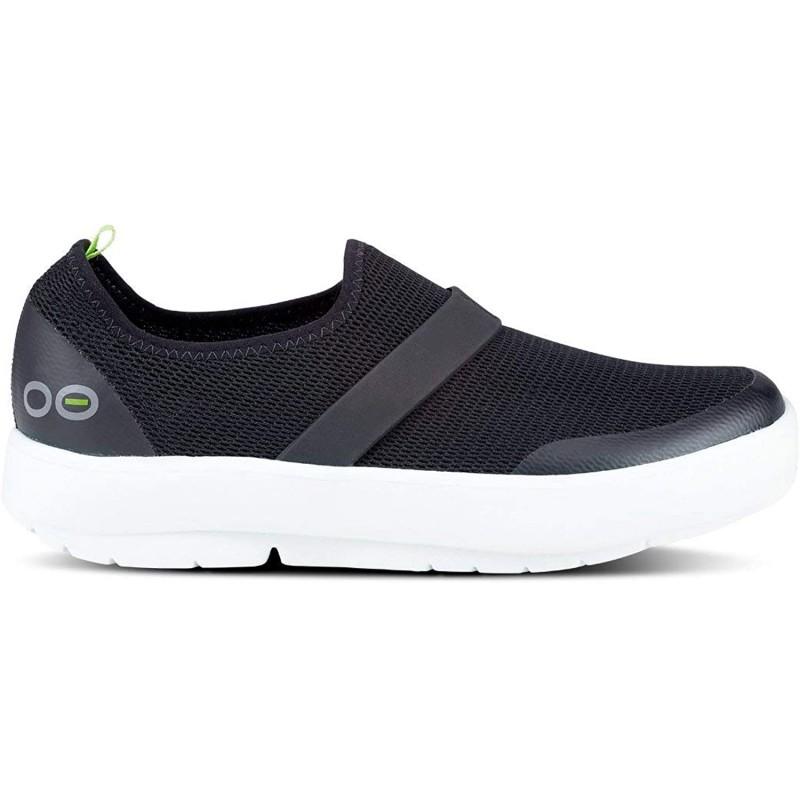 OOFOS 여성용 OOmg 신발-운동 후 액티브 리커버리 신발 발바닥 근막염 및 충격 흡수 정형 외과 용 발 & 뒤꿈치 통증 완화 운동