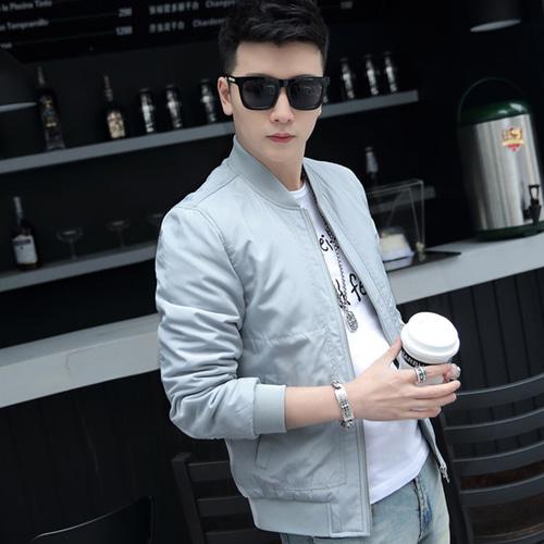 가바바 남성 블루종 봄 가을에 입기 좋은 자켓 G17408 +로또플레이 상품권 증정