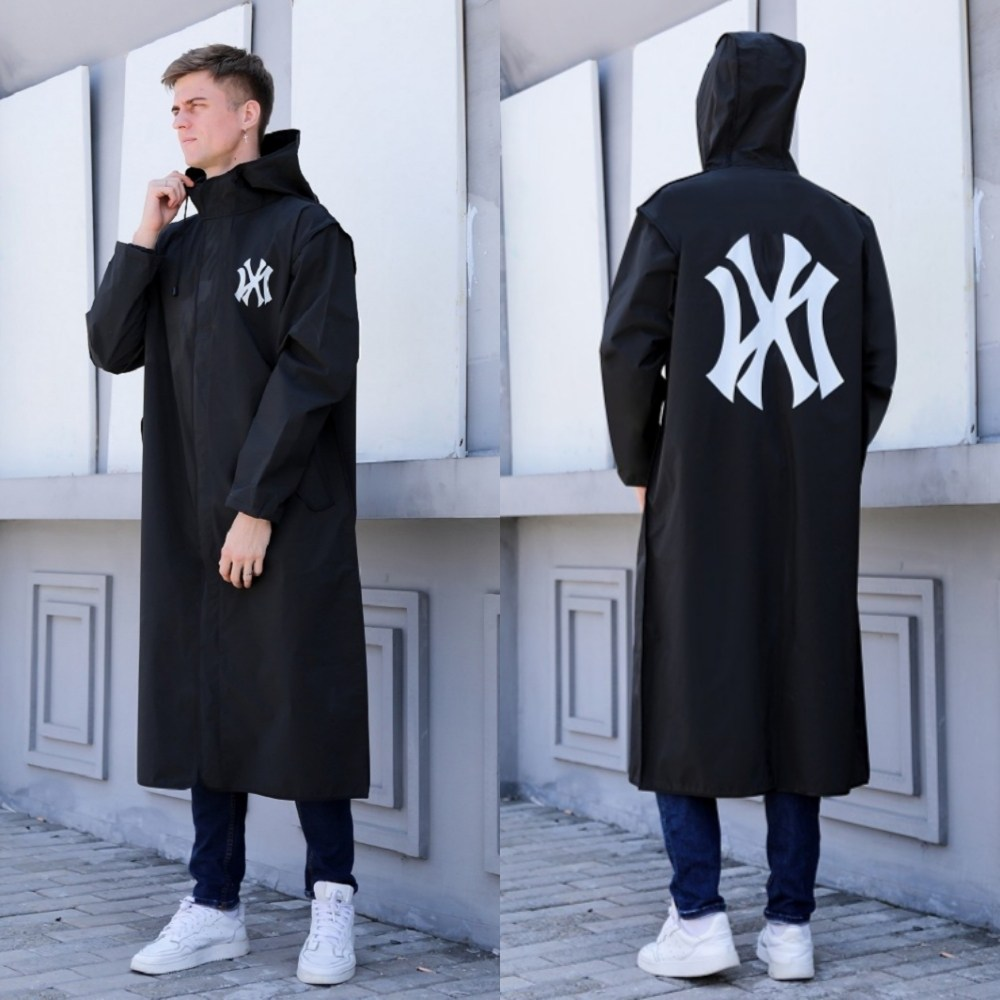 이엔아이 NY 우의 우비 비옷 레인코트 남녀공용 EVA 패션 커플 빅사이즈