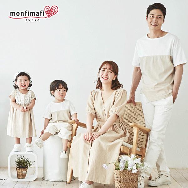 몽피마피 샤인 패밀리 반팔 티셔츠