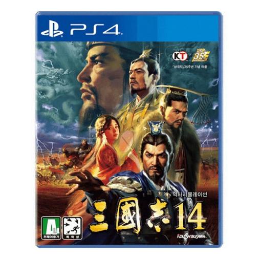 PS4 한글판 삼국지 14 역사 전략 시뮬레이션