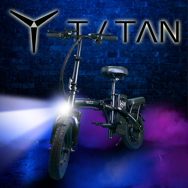 에코드라이브 타이탄 미니바이크 전동킥보드 48V 350w 10A 키박스 분리형배터리 스쿠터 전기자전거, 48v 10ah(기본 모델)
