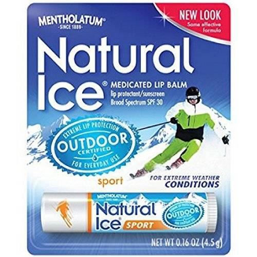 Mentholatum Natural Ice Sunscreen/Lip Protectant SPF 30 Sport/1660204, 상세내용참조