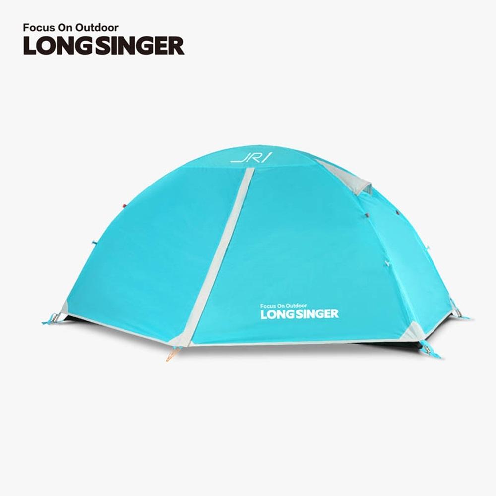 롱싱어 초경량 방수 텐트 2인 JR2 4가지 색상, 하늘색