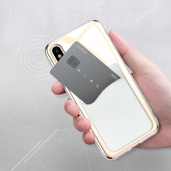 스마트폰 부착 실리콘 카드 포켓 1+1+1 무배 이벤트, 1+1+1, 3581-그레이