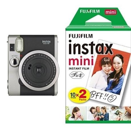 후지필름 instax mini LiPlay 인스탁스 미니 90+사은품 필름 무료배송, 후지필름 인스탁스 미니 90 블랙+사은품 필름