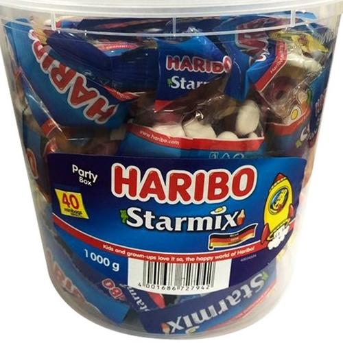 하리보 5종 모음 스타믹스 젤리 1000g +마스크팩 1개 사은품, 1통, 1kg