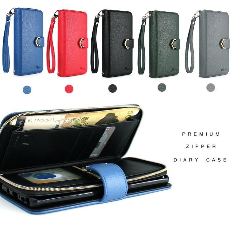 갤럭시A31 케이스 A315 가죽 패플닉디 카드 수납 포켓 지갑 지퍼 스트랩 폰 고리 핸드폰 휴대폰 스마트폰 폰케이스