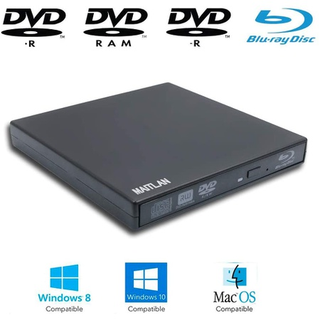 Valley Of The Sun USB External Blu-ray Movies CDDVD Player Portable Optical 드라이브 for Lenovo Ide, 상세 설명 참조0
