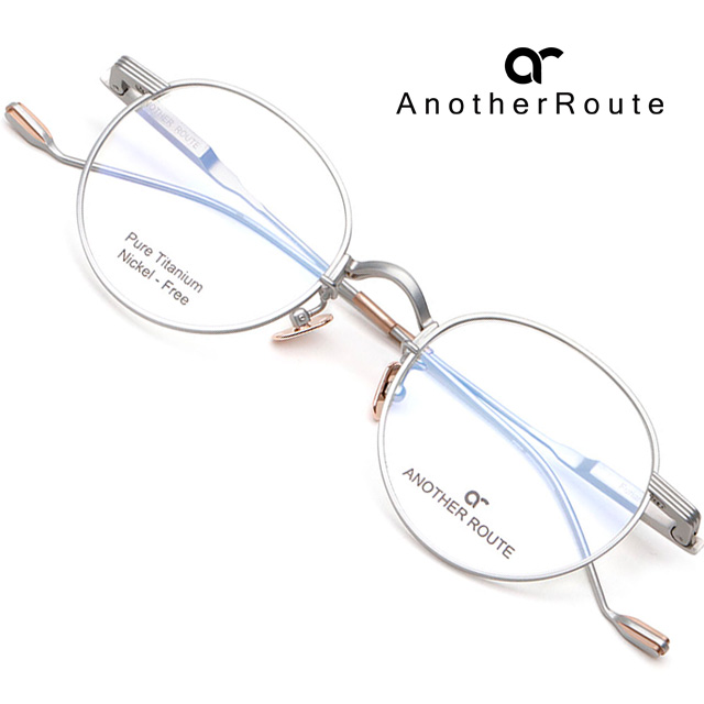 어나더루트 티타늄 안경테 FURIAN-C02 초경량 가벼운 동글이안경