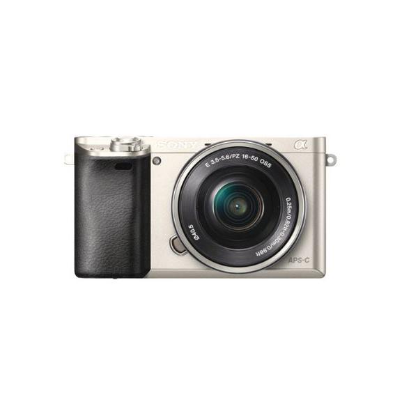 소니 a6000 16-50렌즈 kit 미러리스카메라, 색상/실버