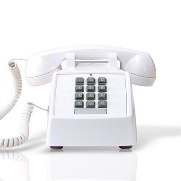 [핫트랙스] 원더스토어 [코텔코] Made in USA 코텔코 빈티지 데스크 유선전화기 화이트, 모델명/품번