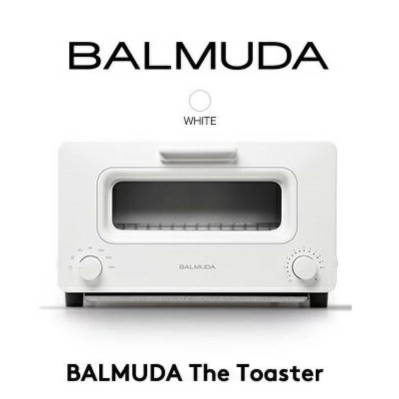 BALMUDA The Toaster감동의 토스터 K01E-WS바루 뮤 다 오븐 토스터 화이트 백 고기능 디자인 가전 바루, 단일상품