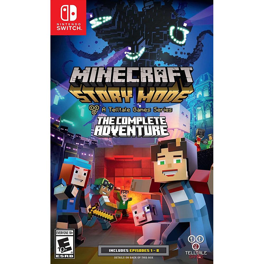 마인크래프트 스토리 모드 Minecraft The Complete Adventure - 닌텐도 스위치, 단일상품