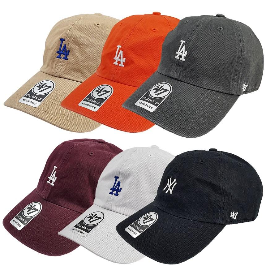 47브랜드 LA다저스 뉴욕양키스 볼캡 모자 스몰로고
