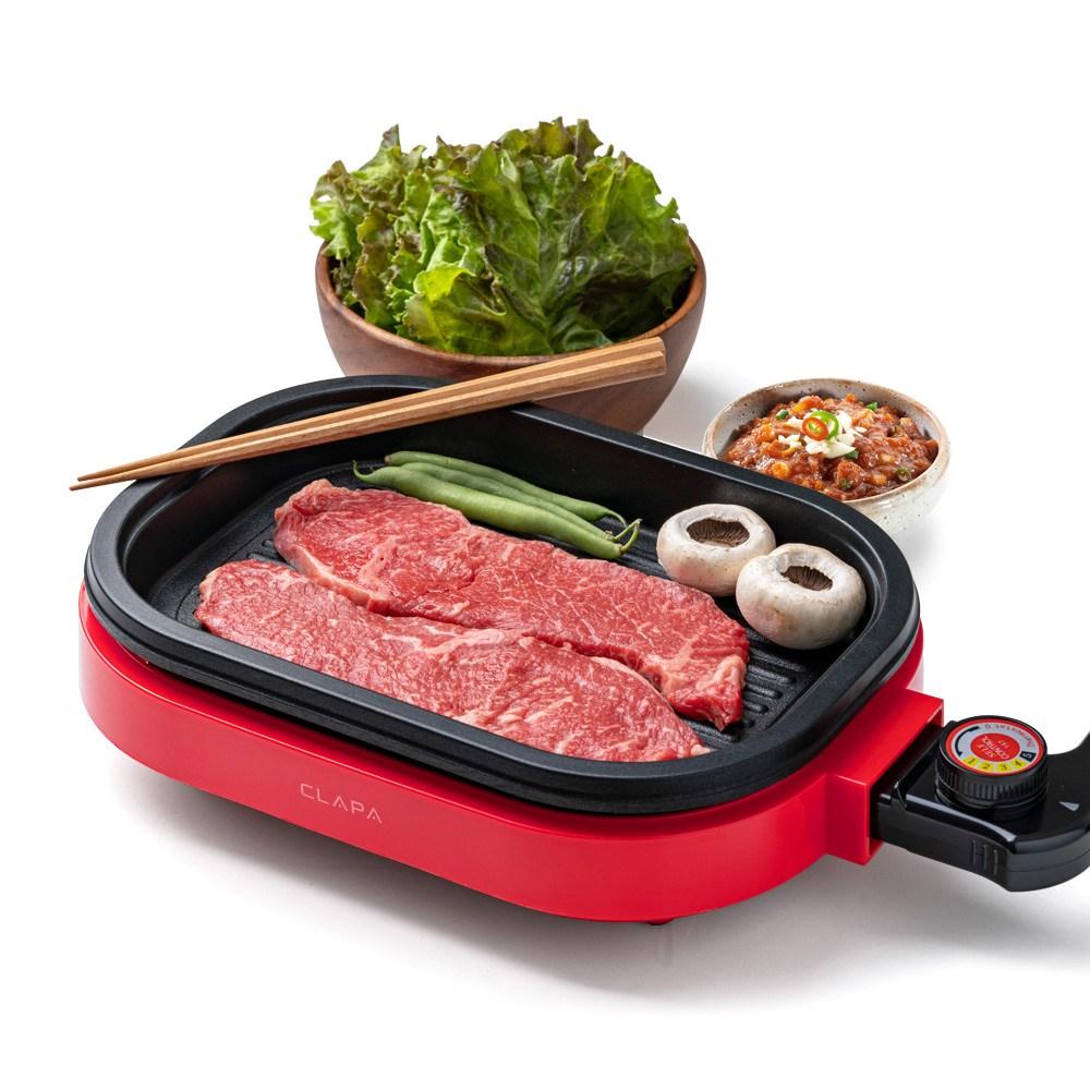 전기 그릴 고기 불판 삼겹살 후라이팬 캠핑 미니 고기판