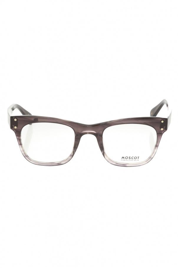 Moscot 'Baba' glasses BABA 0-0711-01 GREY STRIPE 150불 이상 주문시 부가세 별도