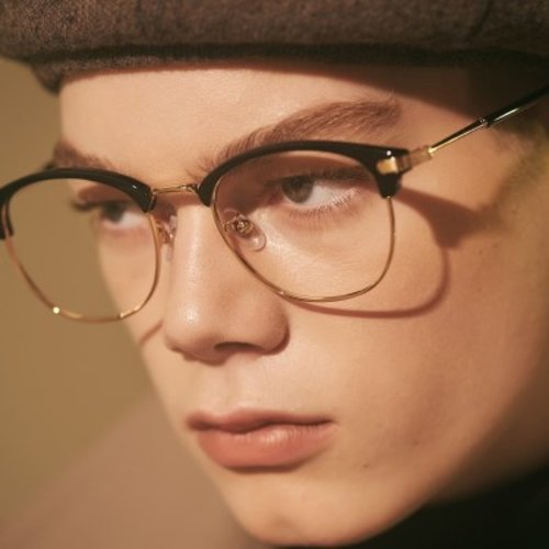 [텐바이텐] BRIO gold-black 안경테 누진다초점렌즈 알큰_(1969515)