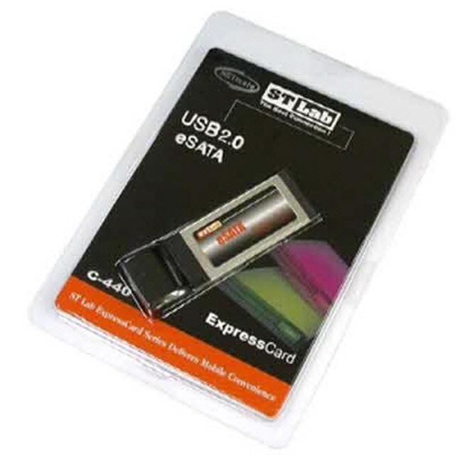 ksw78413 NETmate eSATA-USB 콤보 1Port PCMCIA Express 카드 (SI), 1, 본 상품 선택