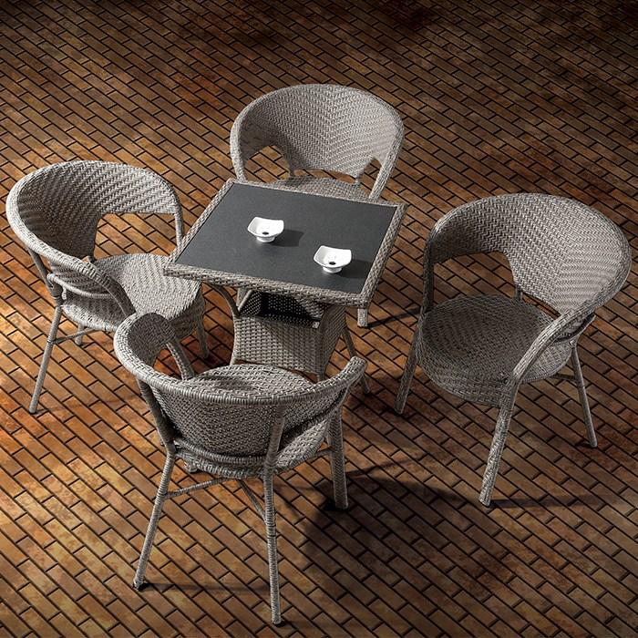 [HFC-4668] 셀레나 라탄 의자 (HFC-4668) W650xD600xH725
