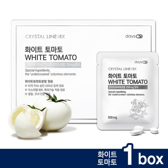 크리스탈 라인 RX 화이트 토마토 14포 1박스, 단품, 단품