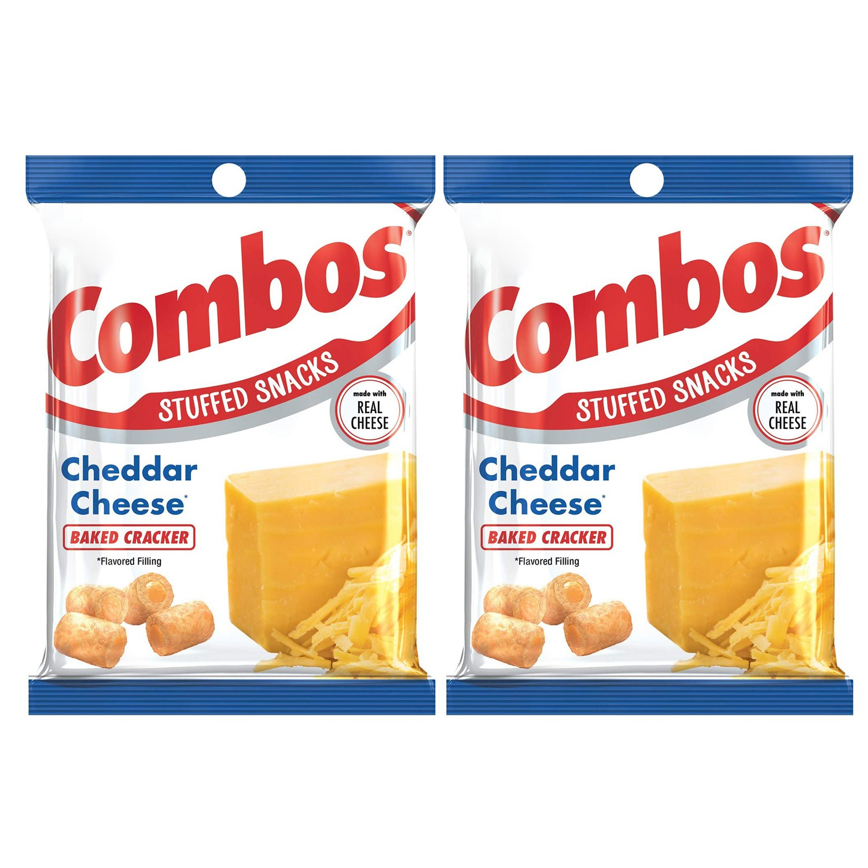 콤보스 베이크드 스낵 크래커 체다 치즈, 178.6g, 2개