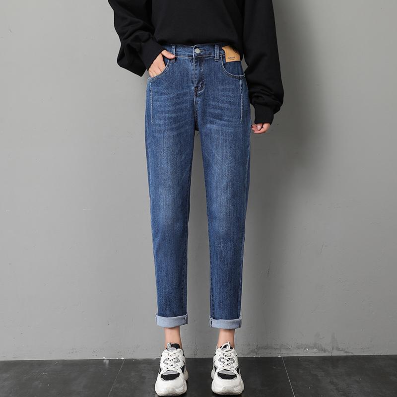 나래쇼핑몰 스트레이트진 블랙 청바지 여성 스트레이트핏 일자 와이드 루즈핏 여자 바지 가을옷 하이웨이스트 날씬해 보이는 배기