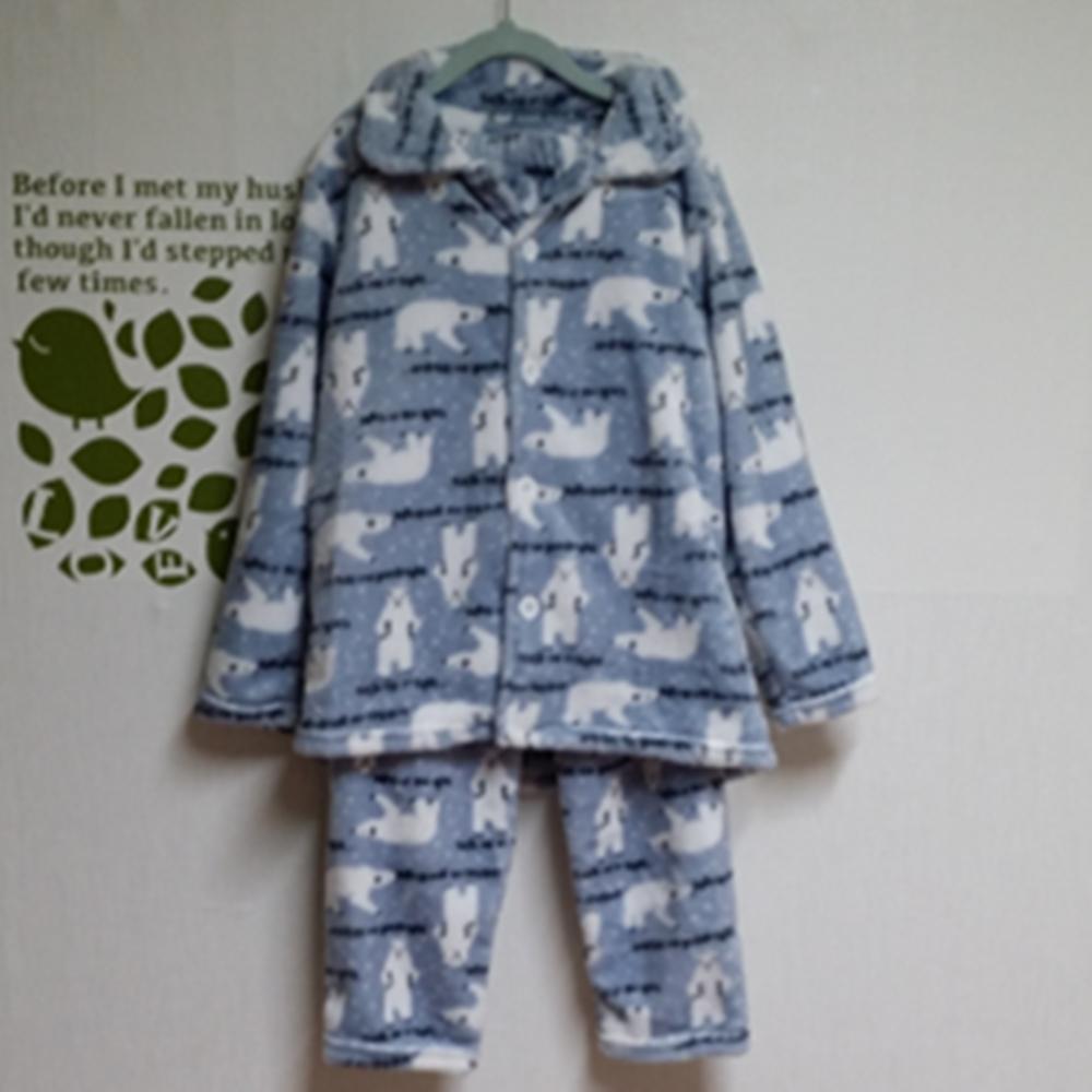 우현쇼핑몰 아동수면 상하세트 밍크수면 겨울잠옷 주니어잠옷