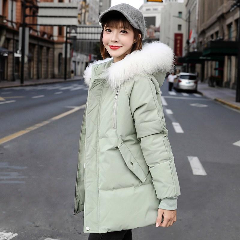 패딩 Jan.07 250번 면 저고리 오버핏 패딩에 두꺼운 패딩 여학생 제빵복 겨울 아우터 패션Z
