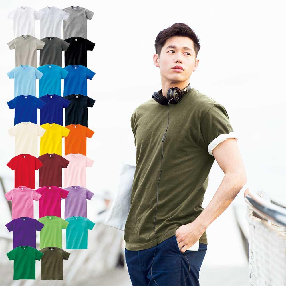 프린트스타 베이직 라운드 티셔츠 17수 남녀공용