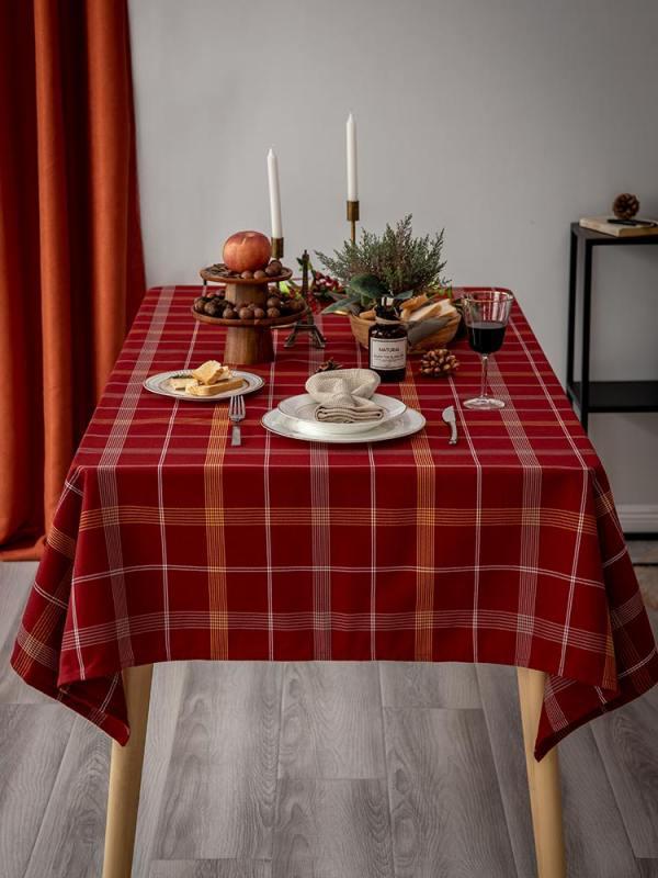 아름다홈 크리스마스 4인 6인용 식탁보 행사 테이블보 다이소, 140x140cm 2~4인, 단일상품