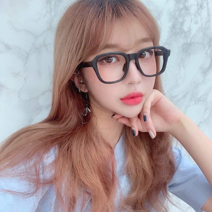 VANANA2 오버사이즈 블랙 검정 뿔테 안경테
