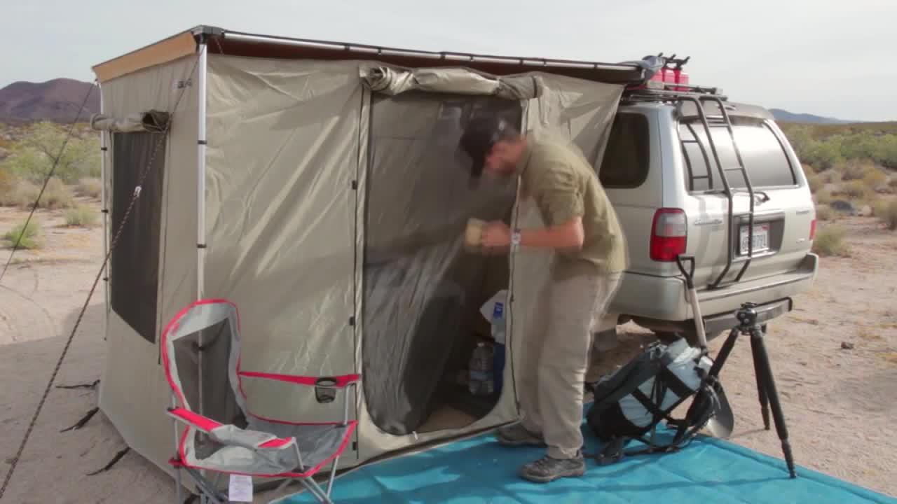 감성 캠핑 텐트 젠슨 야외 자동차 사이드 텐트, H_ 2.5*2.5m사양카사이드캐노피