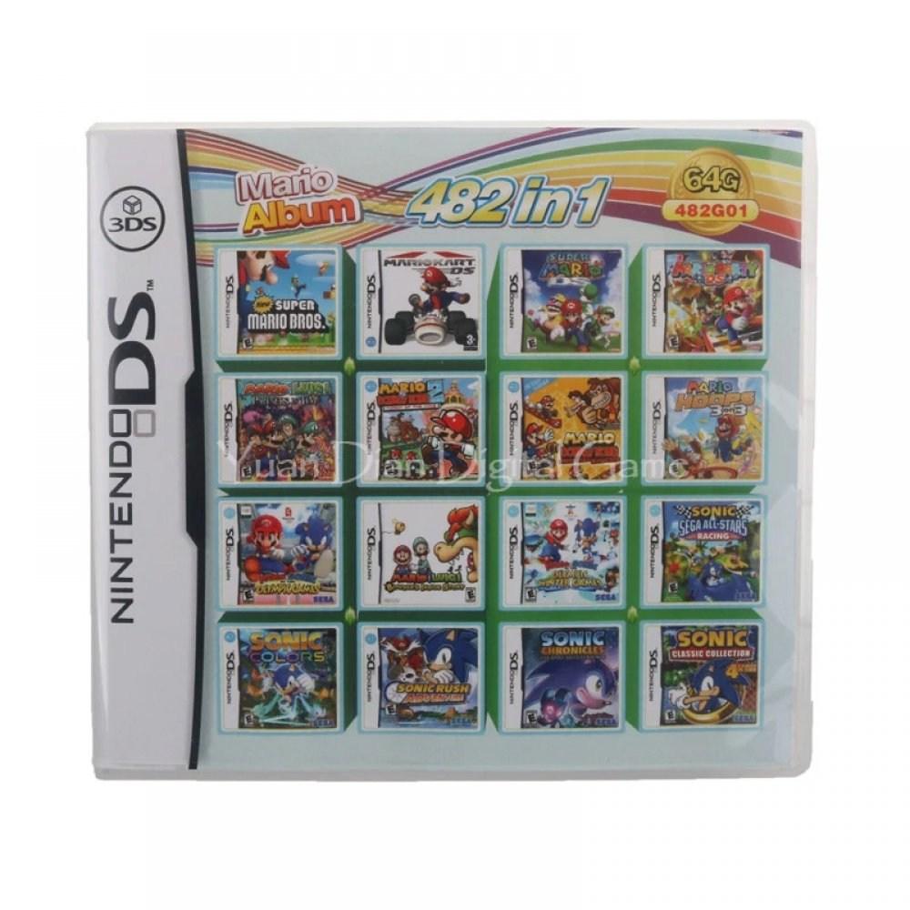 닌텐도 DS 2DS 3DS 2dsxl 3dsxl 482가지합팩, 482합팩