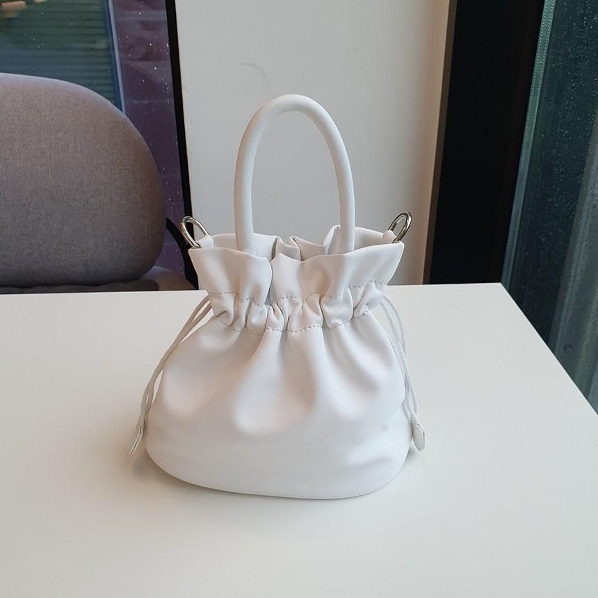 솔리드마켓 소프트 미니 복조리백 (3color)